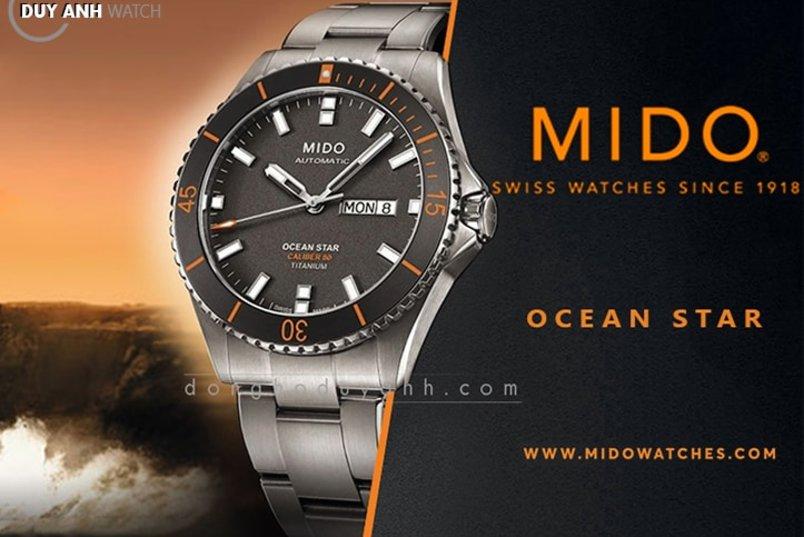 BỘ SƯU TẬP OCEAN STAR CỦA THƯƠNG HIỆU ĐỒNG HỒ MIDO