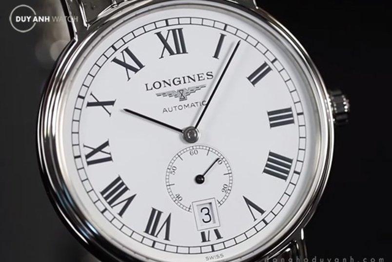 LONGINES PRESENCE ROMAN SMALL SECOND L4.805.4.11.6 - ẤN TƯỢNG TỪ DRESSWATCH SANG TRỌNG