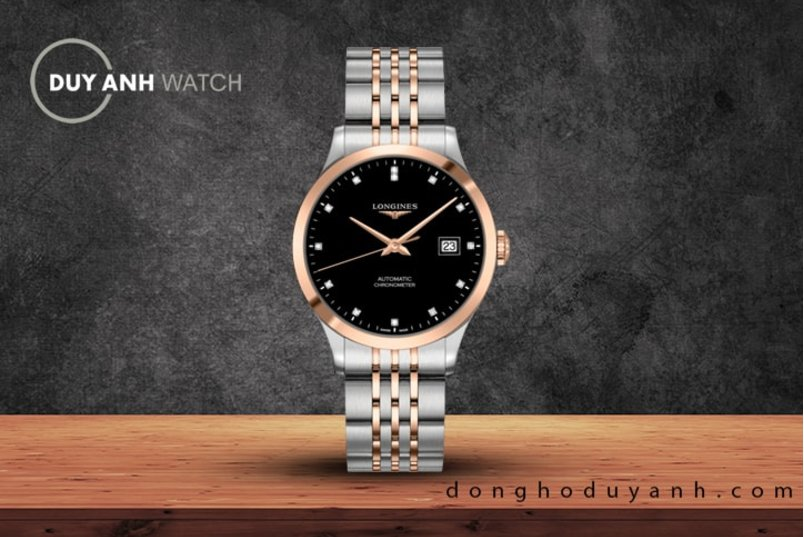 LONGINES RECORD COLLECTION L2.820.5.57.7 - THỎA HIỆP VỚI CHẤT LIỆU SILICON