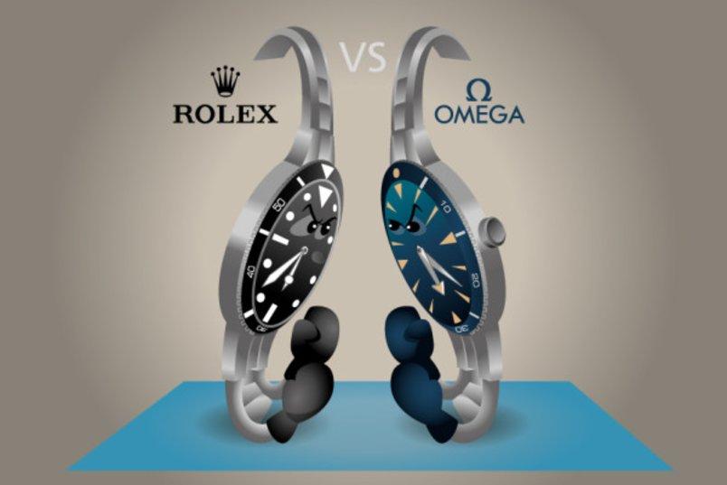 Omega vs Rolex: Khi Cựu hoàng thách thức Tân vương