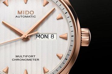 Basel world 2015 - Mido Multifort Caliber 80 Chronometer