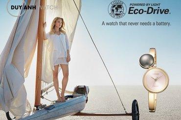Bốn trải nghiệm tuyệt vời của đồng hồ Citizen Eco-Drive.