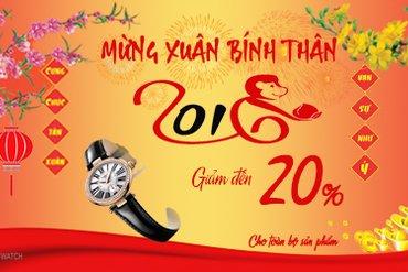 MỪNG XUÂN BÍNH THÂN 2016 KHUYẾN MÃI LÊN TỚI 20%