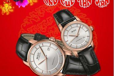 Đồng hồ đeo tay - Món quà Tết đầy ý nghĩa