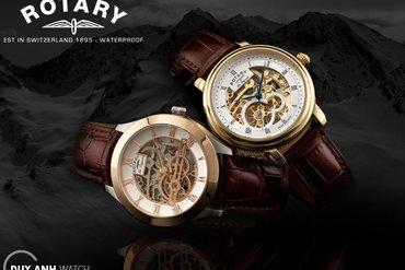 Những bộ sưu tập để đời của hãng đồng hồ Rotary