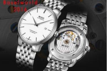 Baselworld 2016 – Những mẫu đồng hồ nổi bật từ thương hiệu MIDO
