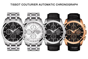 TISSOT COUTURIER AUTOMATIC CHRONOGRAPH: 2 TRONG 1!