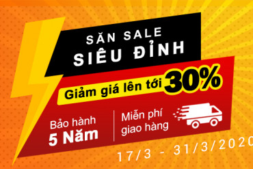 SĂN SALE SIÊU ĐỈNH - UP TO 30%
