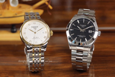 SO SÁNH TISSOT GENTLEMAN POWERMATIC 80 SILICIUM T127.407.11.051.00 VÀ TISSOT LE LOCLE POWERMATIC 80 T006.407.22.033.01