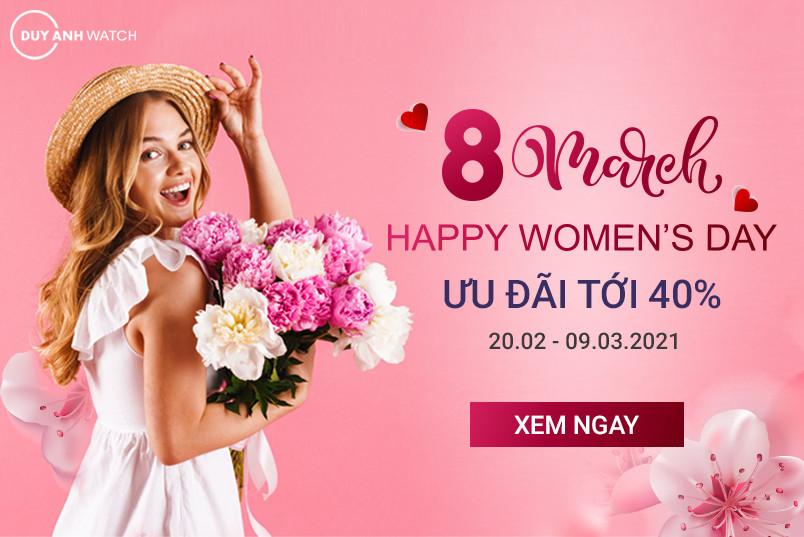 """HAPPY WOMEN'S DAY – """"ĐỨNG HÌNH"""" VỚI SIÊU SALE CHẤT NGẤT - Upto 40%"""