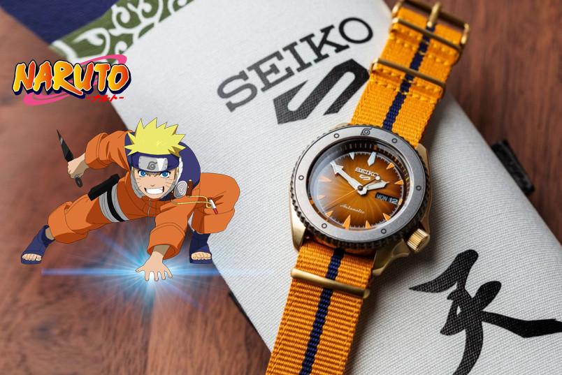 Seiko ra mắt phiên bản giới hạn Seiko 5 Sport NARUTO và BORUTO