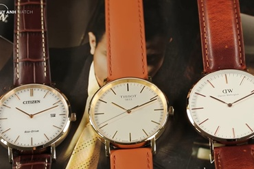 [Review - Đánh giá] 3 mẫu đồng hồ phong cách tối giản từ Daniel Wellington – Tissot – Citizen