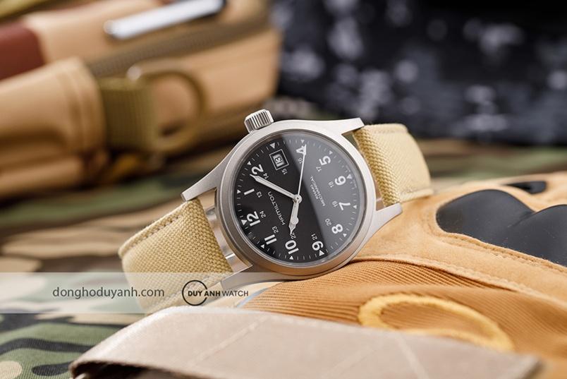 Hamilton Khaki Field Mechanical – mẫu đồng hồ đậm chất quân sự