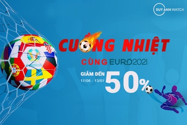 CUỒNG NHIỆT EURO 2021 – SALE UP TO 50%