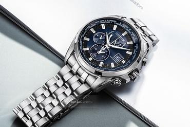 Hướng dẫn sử dụng đồng hồ Citizen Eco-Drive AT9 hoặc FC0 (máy H820)
