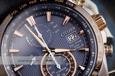 Hướng dẫn sử dụng đồng hồ Citizen AT8 (Máy H800)