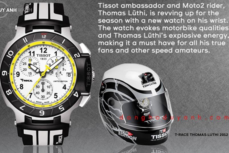 """Thomas Lüthi : """" Sự chính xác chính tuyệt đối là điểm chung giữa tôi và đồng hồ Tissot"""""""