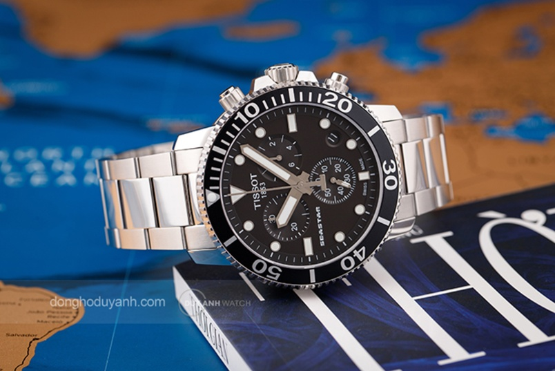 Ngợi ca tinh thần khám phá đại dương với Tissot Seastar 1000 Quartz Chrono
