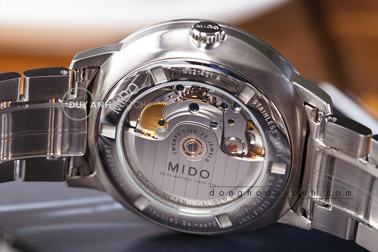 Mido Commander II Caliber 80 M021.431.11.051.00