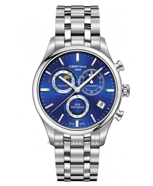 Đồng Hồ Certina DS-8 Chronograph Moon Phase C033.450.11.041.00