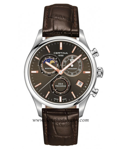 Đồng Hồ Certina Ds-8 Chronograph Moon Phase C033.450.16.081.00