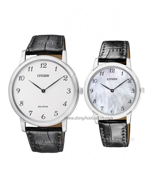 Đồng hồ đôi Citizen AR1110-11B và EG6005-03D