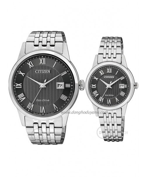 Đồng hồ đôi Citizen AW1230-51E và FE1080-51E