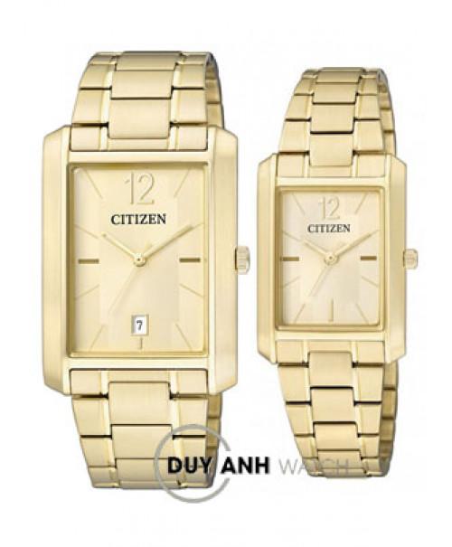 Đồng hồ đôi Citizen BD0032-55P và ER0192-55P