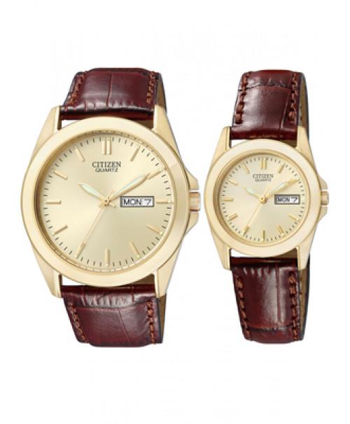 Đồng hồ đôi Citizen BF0582-01P và EQ0562-03P
