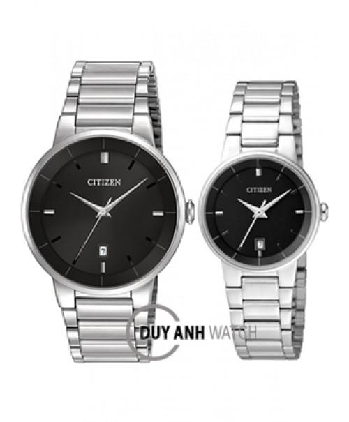 Đồng hồ đôi Citizen BI5010-59E và EU6010-53E