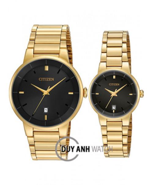 Đồng hồ đôi Citizen BI5012-53E và EU6012-58E
