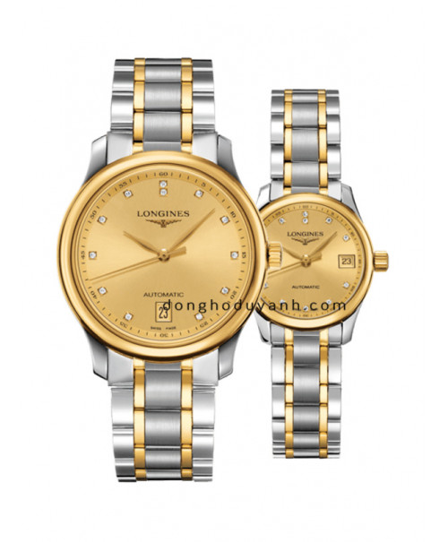 Đồng hồ đôi Longines L2.628.5.37.7 và L2.128.5.37.7