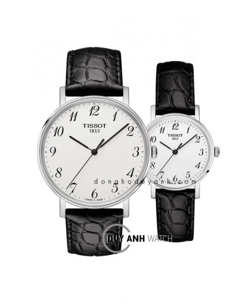 Đồng hồ đôi Tissot T109.410.16.032.00 và T109.210.16.032.00