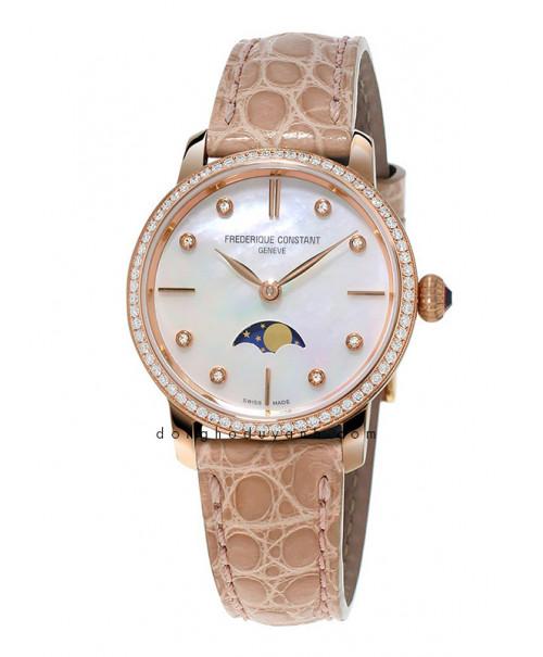 Đồng hồ Frederique Constant Slimline Moonphase FC-206MPWD1SD9