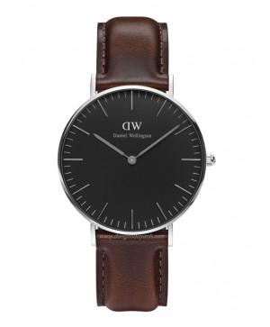 Đồng hồ Daniel Wellington Classic Black Bristol DW00100143