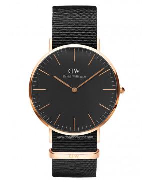 Đồng hồ Daniel Wellington Classic Black Cornwall DW00100148