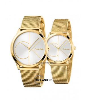 Đồng hồ đôi Calvin Klein K3M21526 và K3M22526