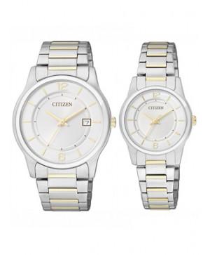 Đồng hồ đôi Citizen BD0024-53A và ER0184-53A