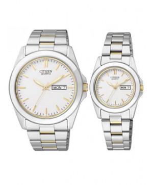 Đồng hồ đôi Citizen BF0584-56A và EQ0564-59A