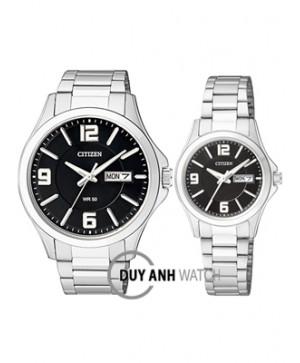 Đồng hồ đôi Citizen BF2000-58E và EQ0590-59E