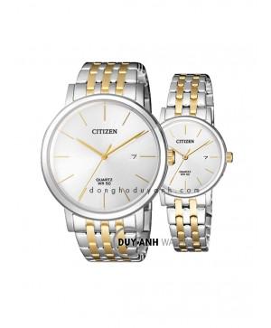 Đồng hồ đôi Citizen BI5074-56A và EU6094-53A