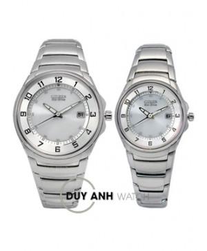 Đồng hồ đôi Citizen BM6650-53A và EW1360-56A