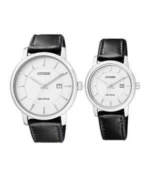 Đồng hồ đôi Citizen BM6750-08A và EW1560-06A