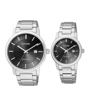 Đồng hồ đôi Citizen BM6750-59E và EW1560-57E