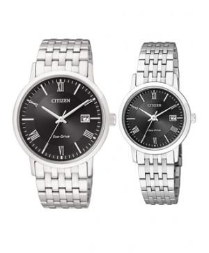 Đồng hồ đôi Citizen BM6770-51E và EW1580-50E