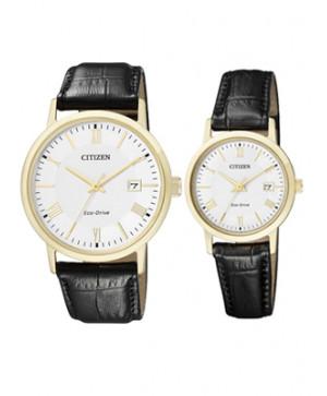 Đồng hồ đôi Citizen BM6772-05A và EW1582-03A