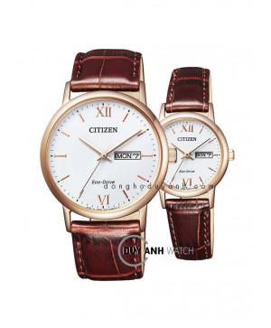 Đồng hồ đôi Citizen BM9012-02A và EW3252-07A