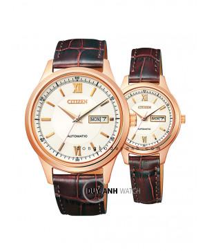 Đồng hồ đôi Citizen NY4053-05A và PD7153-05A
