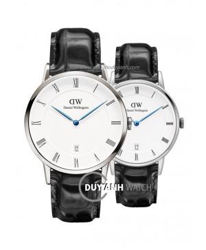 Đồng hồ đôi Daniel Wellington DW00100108 và DW00100117