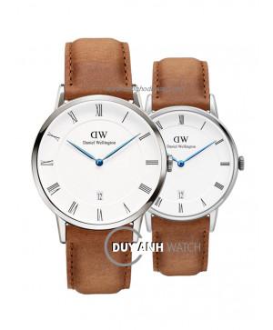Đồng hồ đôi Daniel Wellington DW00100116 và DW00100114